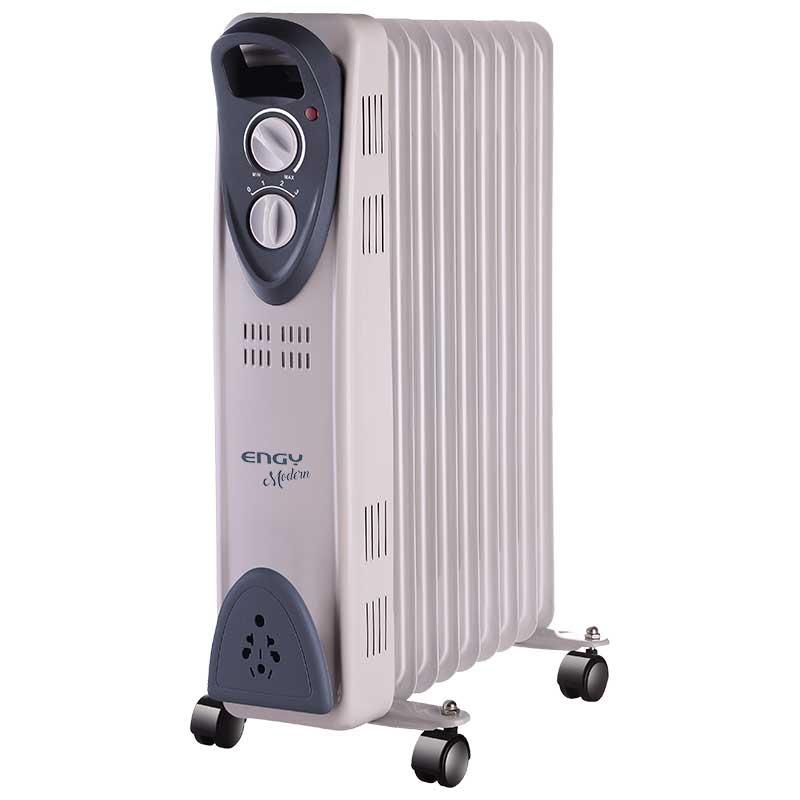 Масляный радиатор Engy EN-2209 Modern (9 секций 2000Вт) белый (015121)