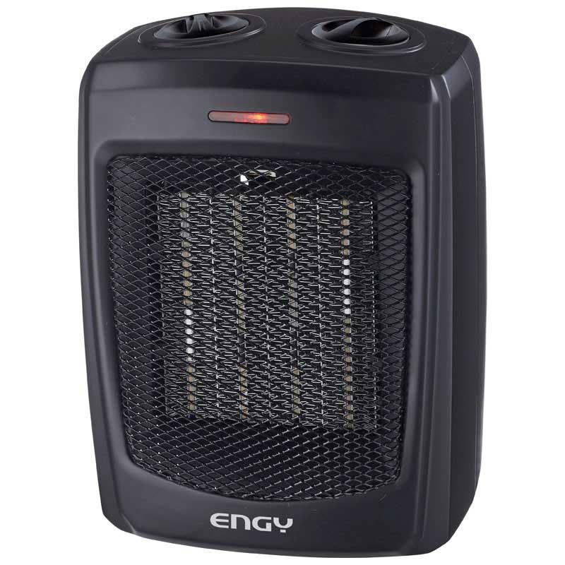 Тепловентилятор Engy KRP-3 Black на 1.5 кВт керамический, термостат (004399)