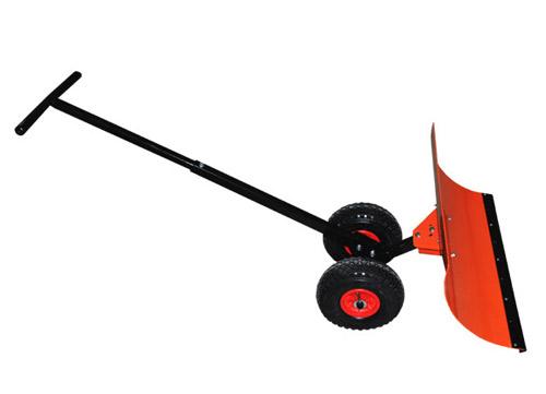 Лопата на колесах Электромаш с поворотным ковшом для уборки снега