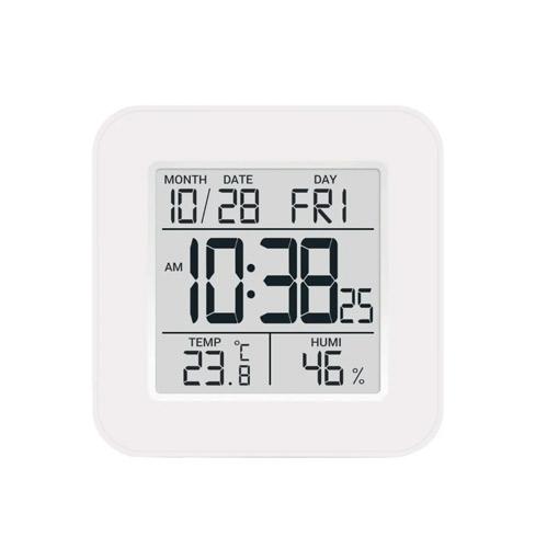 Метеостанция цифровая Стеклоприбор Т-19. Функции термометр (температура внутри), гигрометр, часы, будильник, календарь