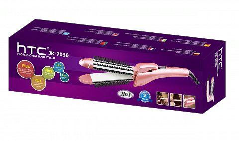 HTC JK-7036 выпрямитель для волос керамический, 35Вт