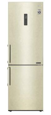 Холодильниик LG GA-B459BEGL 341л бежевый мрамор