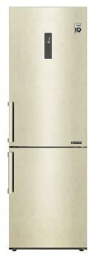 Холодильниик LG GA-B459BLGL 341л бежевый
