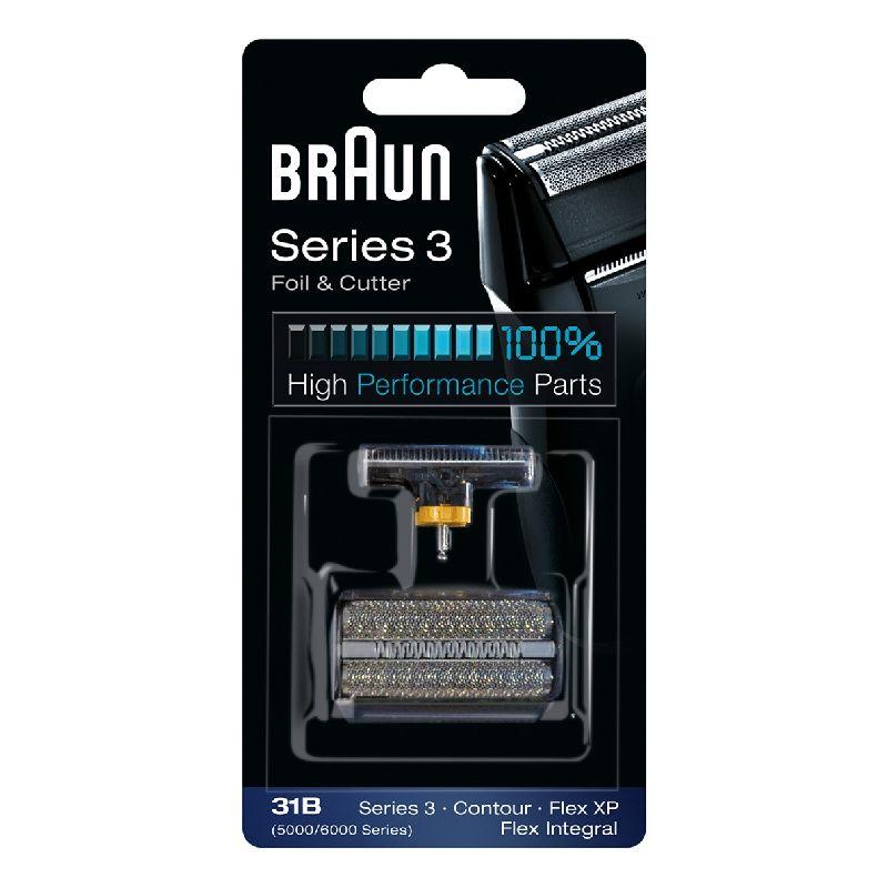 31B Сетка Braun FlexIntegral FlexXP 5000 6000series в сборе+нож (31B) тип 81253259 (5724766)