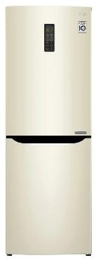 Холодильниик LG GA-B379SYUL 261 бежевый