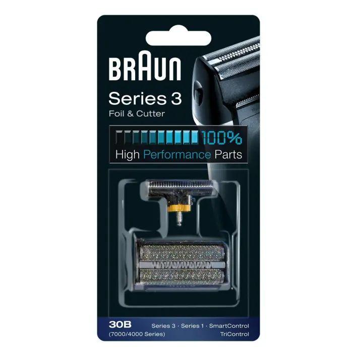 30B Сетка Braun SincroPro Sincro 7000series в сборе + нож (30B) тип 81253254 (5491799)