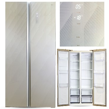Холодильниик GiNZZU NFK-465 436л. шампань
