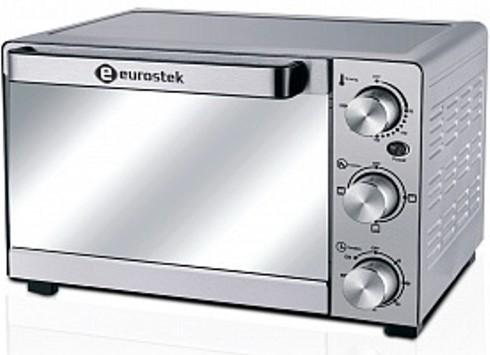 Печь электрическая Eurostek ETO-038S 38л, 1500Вт, цвет серый