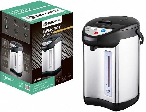 Электрочайник-термос (термопот) Eurostek ETP-040S 4л 800Вт