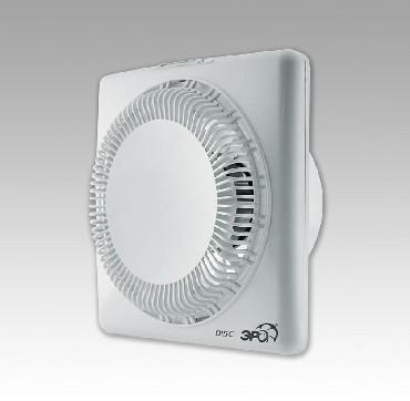 Вентилятор ERA DISC 5С Вентилятор осевой вытяжной с обратным клапаном D 125