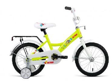 Детский велосипед ALTAIR ALTAIR KIDS 14 желтый 14 1 ск. RBKN9LNF1003