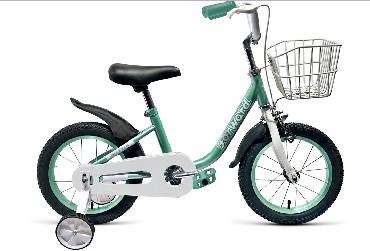 Детский велосипед FORWARD BARRIO 14 бирюзовый 14 Сталь 1 ск. RBKW9LNF1011