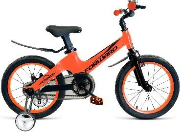 Детский велосипед FORWARD COSMO 12 оранжевый 12 Алюминий 1 ск. RBKW9L6E1002