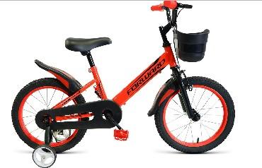 Детский велосипед FORWARD NITRO 14 красный 14 Сталь 1 ск. RBKW9LNF1019