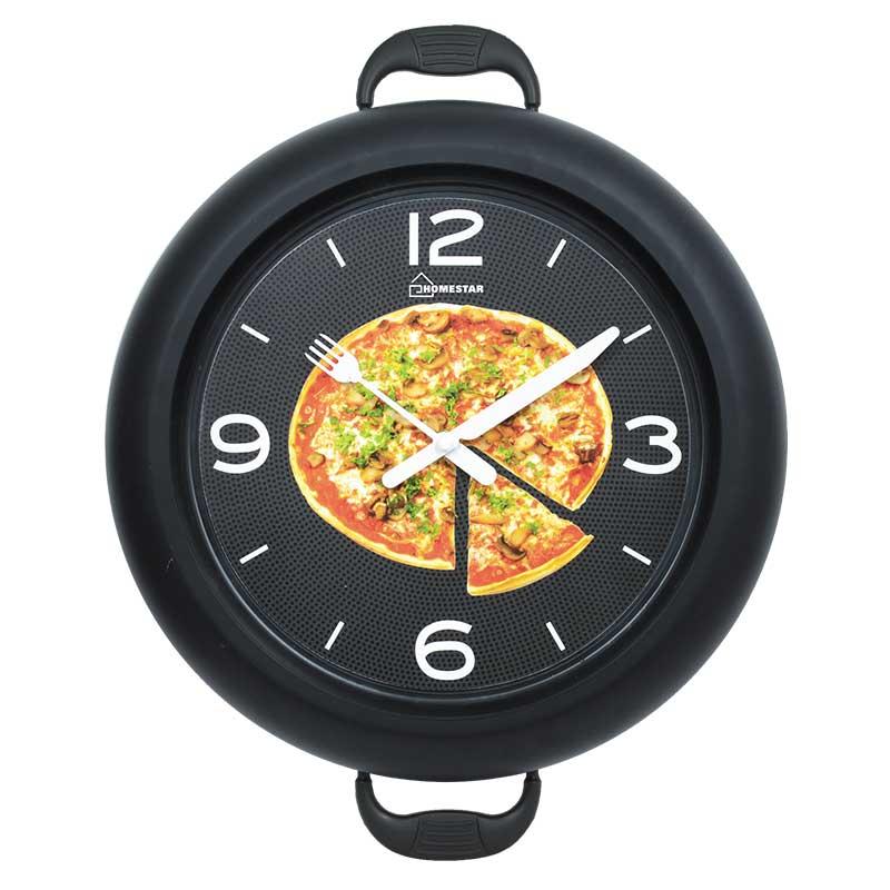 Часы настенные кварцевые Homestar HС-09 (30.2x37.5x4.6см) (005222) форма-сковородки