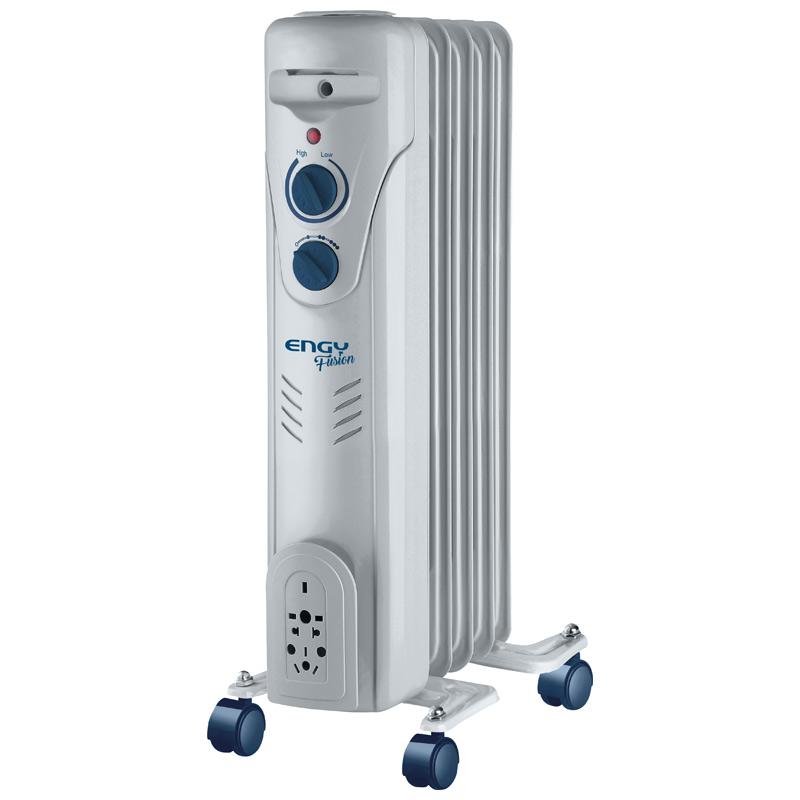 Масляный радиатор Engy EN-2305 серия Fusion (5 секций 1000Вт) (015127)