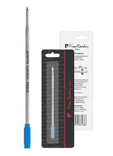 Pierre Cardin Стержень для шариковой ручки класса Economy , синий (PC-300P-03)