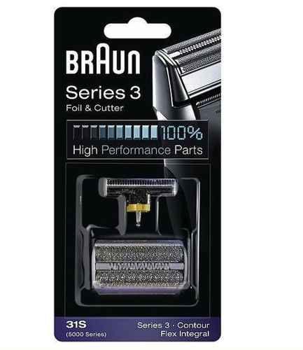 31S Сетка Braun FlexIntegral Contour series 5000 series в сборе+нож (31S) тип 81253263 (5724764)