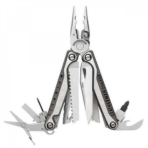 Мультитул Leatherman Charge Plus TTi, 19 функций, нейлоновый чехолx (832528)