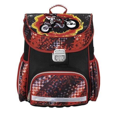 Ранец Hama MOTORBIKE красный черный (139073)