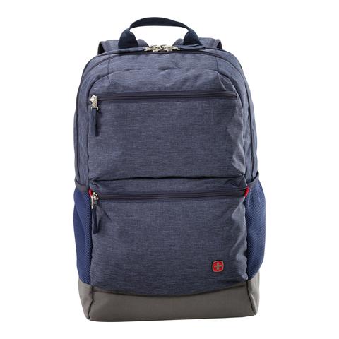 Рюкзак Wenger 16 , синий, 31x20x46 см, 22 л (605013)
