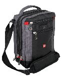 Сумка-планшет Wenger Vertical Boarding Bag, черная серая, 22х9х29 см (1092238)