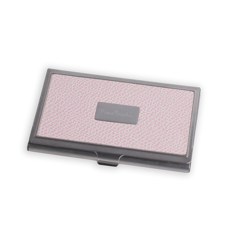 Визитница Pierre Cardin, розовая, искуств.кожа + металл (PC1139pink)