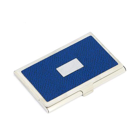 Визитница Pierre Cardin, синяя, кожа (PC1139-B2B)