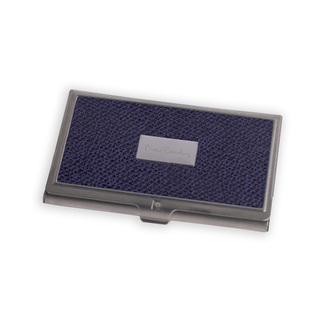 Визитница Pierre Cardin, фиолетовая, искуств.кожа + металл (PC1139purple)