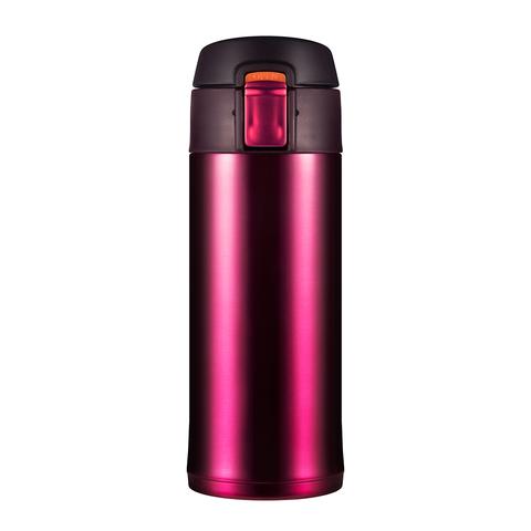 Термокружка Woodsurf Quick Open (0,35 литра), темно-розовая (QOTC2350-01)