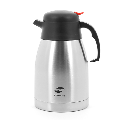 Термос-чайник Stinger (2 литра), серебристый (HY-CP301-2)