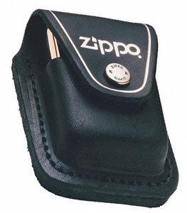 Чехол для зажигалки Zippo LPLBK, черный (LPLBK)