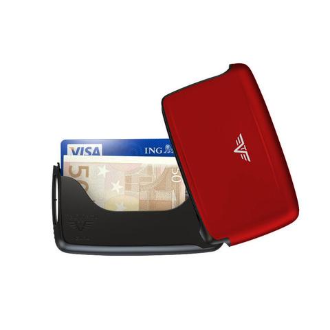 Визитница c защитой Tru Virtu Pearl, красный , 104x67x17 мм (20.10.1.0001.05)