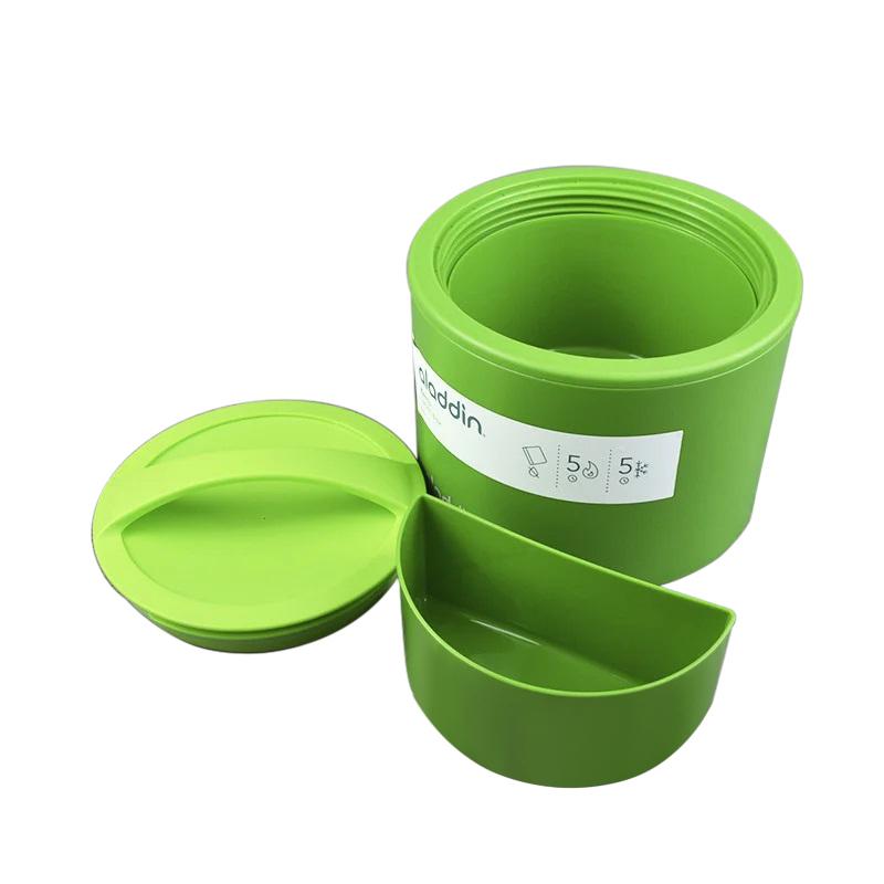 Ланчбокс Aladdin Bento (0,6 литра), зеленый (10-01134-054)