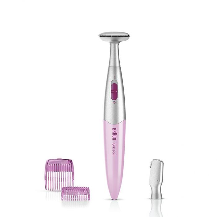 Braun Silk-epil FG-1100 триммер для бикини, розовый