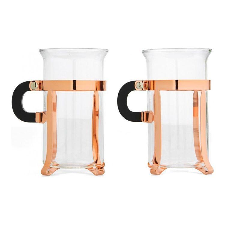 Набор кружек Bodum Chambord (2 шт по 0,3 литра), медный (4912-18)