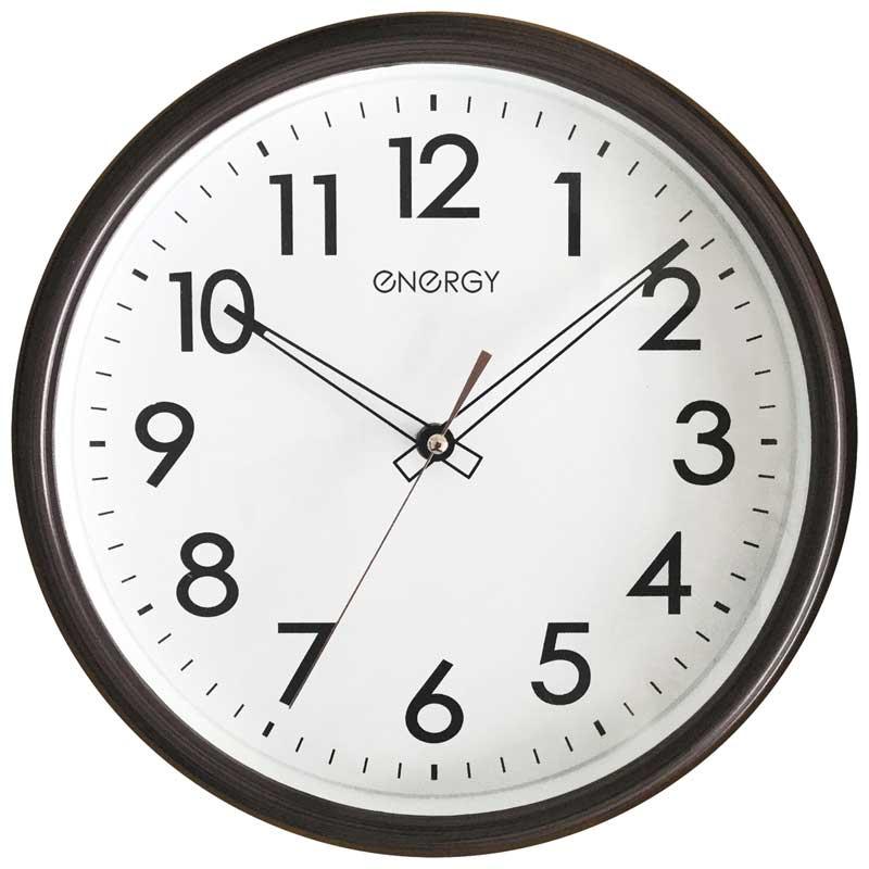 Часы настенные кварцевые Energy ЕС-115 круглые (009489)