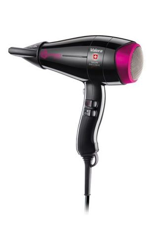 Фен Valera ColorPro Light 3000, 2100 Вт, 2 насадки, черный розовый (CP 3.0 RC)