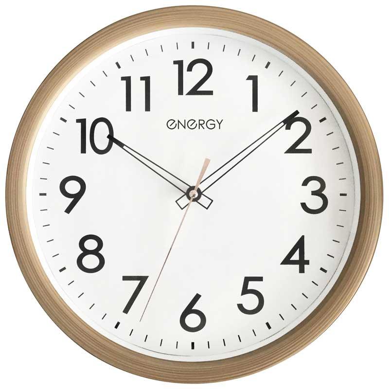 Часы настенные кварцевые Energy ЕС-116 круглые (009490)