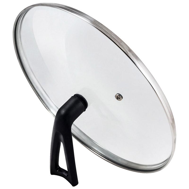 Крышка G-type (закал стекло) с бакелитовой ручкой, 22 см, VETRO-SPECIAL, тм Mallony (987032)