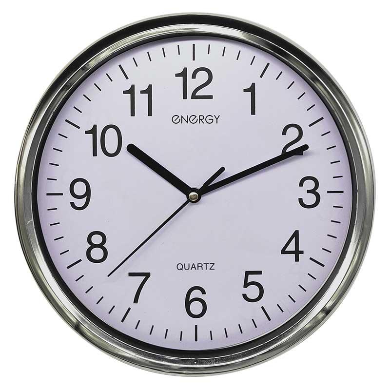 Часы настенные кварцевые ENERGY модель ЕС-129 круглые (009511)