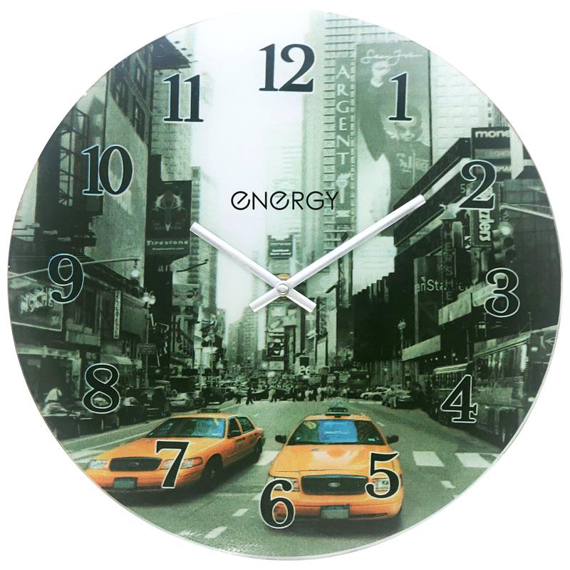 Часы настенные кварцевые ENERGY модель ЕС-137 круглые (009519)