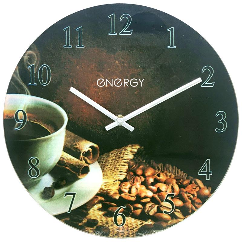 Часы настенные кварцевые ENERGY модель ЕС-138 круглые (009520)
