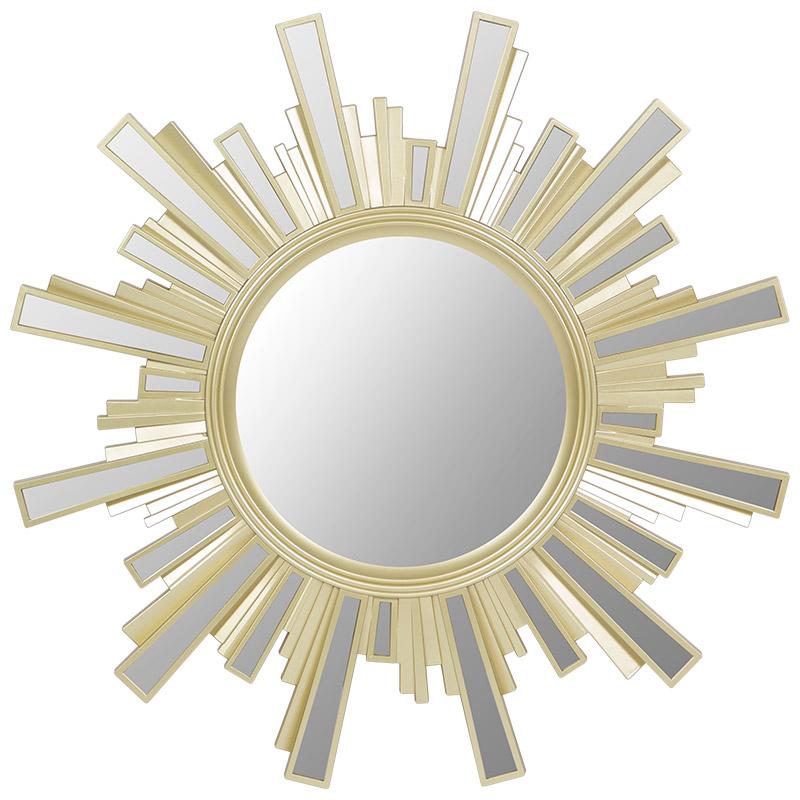 Зеркало настенное Гамма , цвет-золотой (006809)