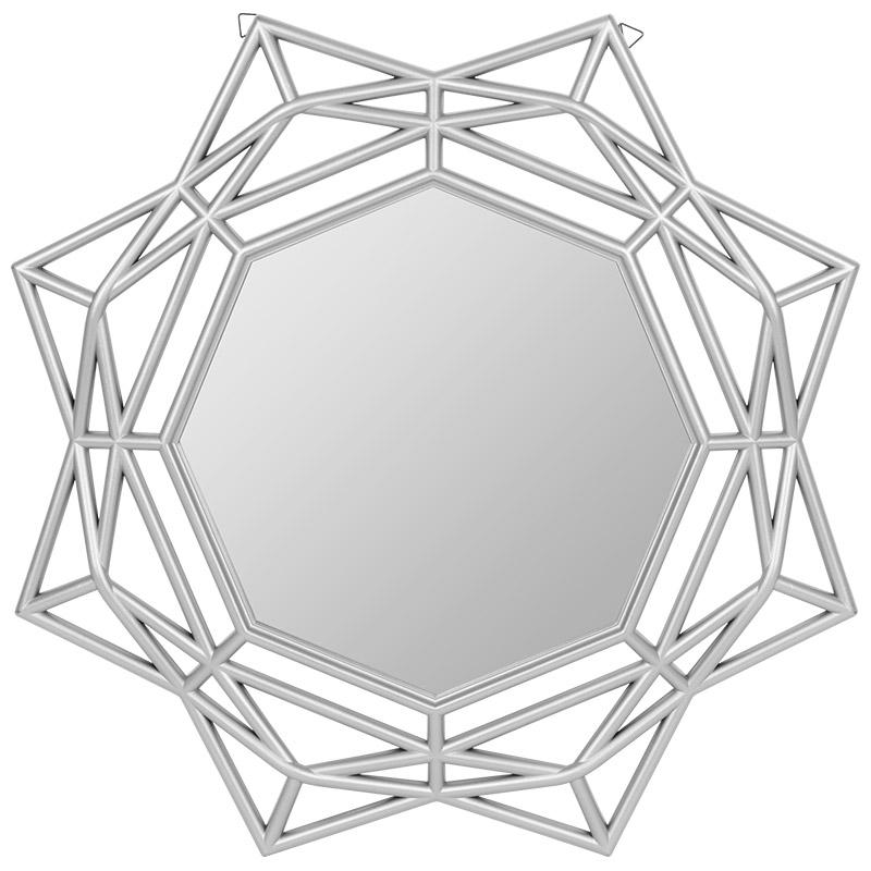 Зеркало настенное Колорит , цвет-серебро (006810)