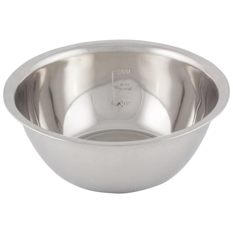 Миска Bowl-Roll-20, объем 1,5 л, из нержавеющей стали, зеркальная полировка, диаметр 20 см (003277)